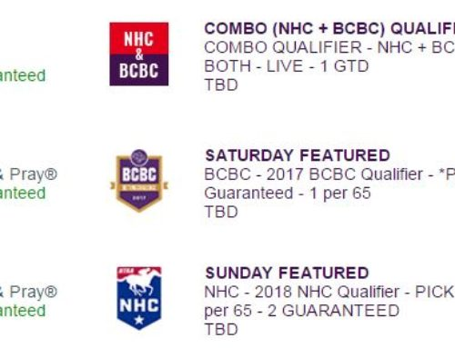 First Joint NHC-BCBC Qualifier Friday On HorsePlayers.com