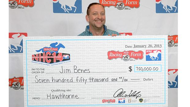 Jim Benes Captures $750,000 Grand Prize in 2013 DRF/NTRA