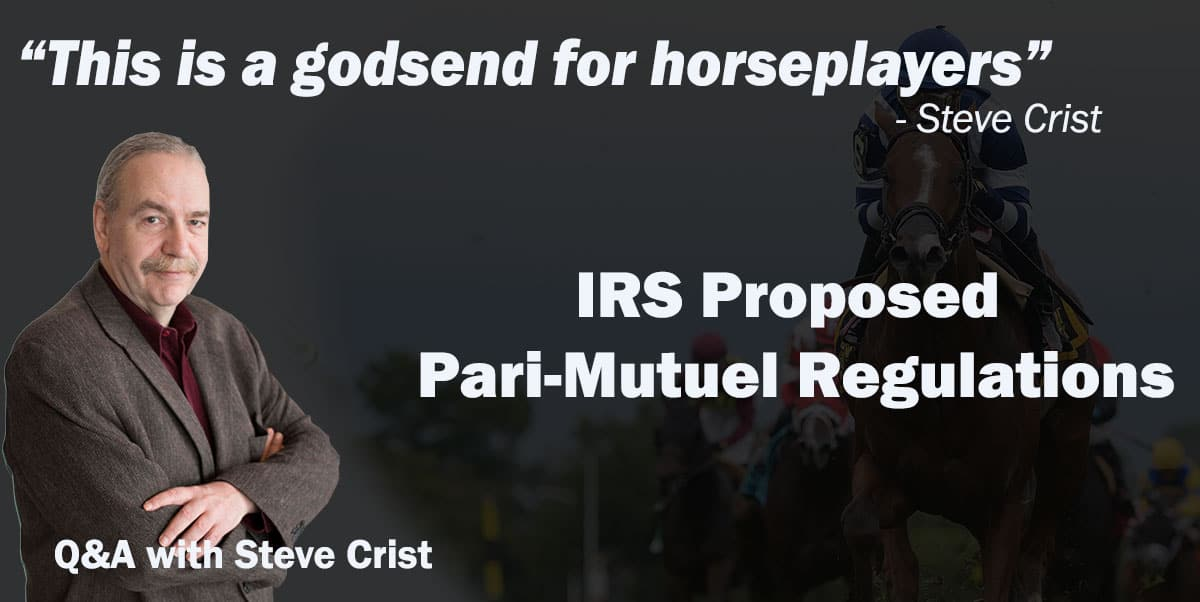 Crist Qa Proposed Pari Mutuel Regulations A Godsend For