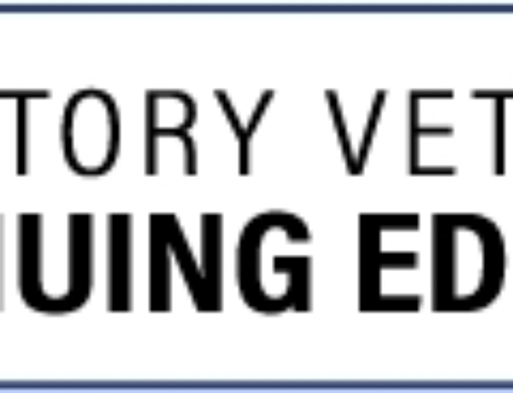 Regulatory Vet Continuing Ed Conference Approved for 'RACE' Credits