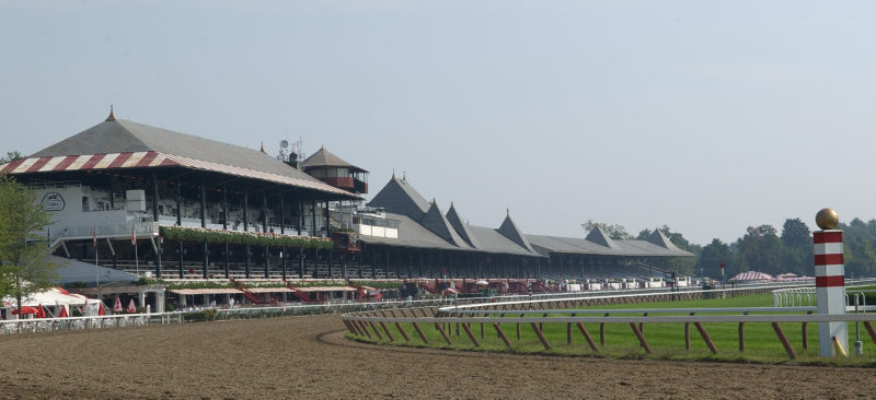 Saratoga Race Course in Saratoga Springs, N.Y.