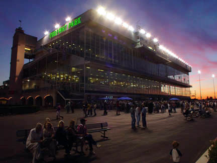 Turfway Park hosts the 45th running of the Spiral Stakes this Saturday.
