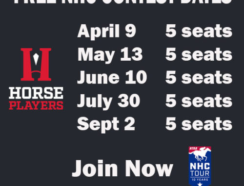 First Free Online Qualifier of 2017 Offers Five NHC Berths Sunday On HorsePlayers.com